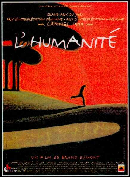 "poster for ""Humanit�, L'"" by Bruno Dumont(1999)"
