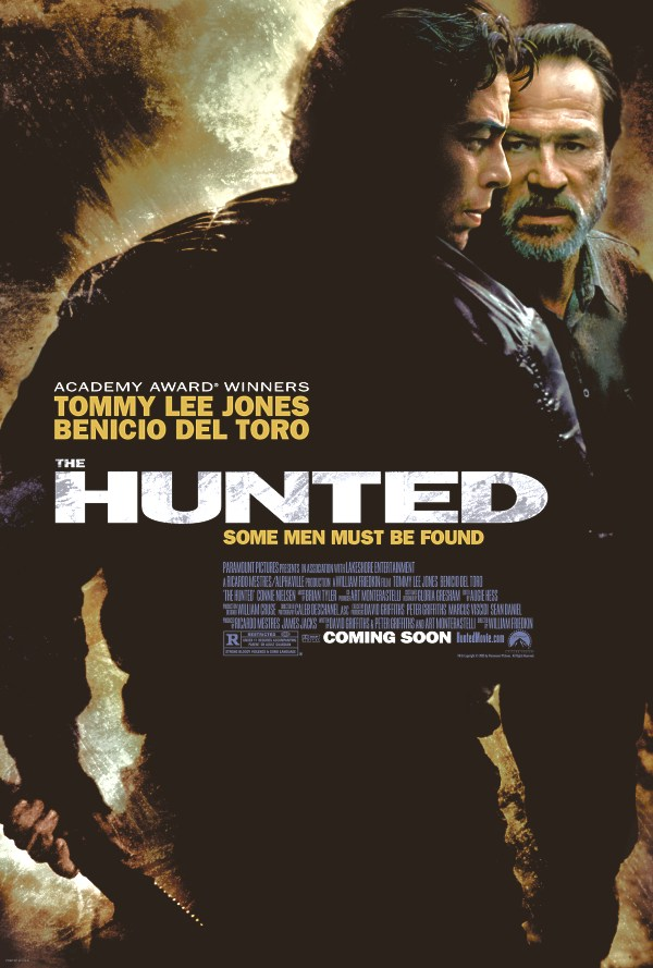 "poster for ""Hunted, The"" by William Friedkin(2003)"