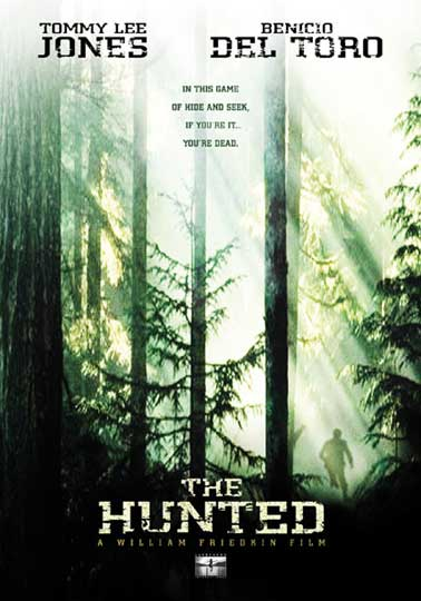 "poster for ""Hunted, The&quot"
