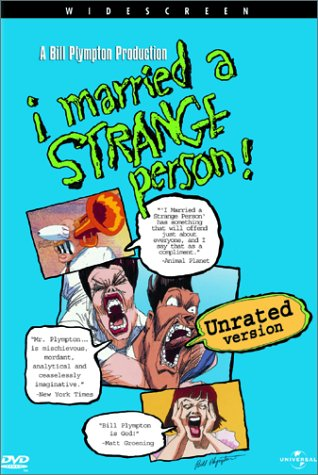 "poster for ""I Married A Strange Person&quot"