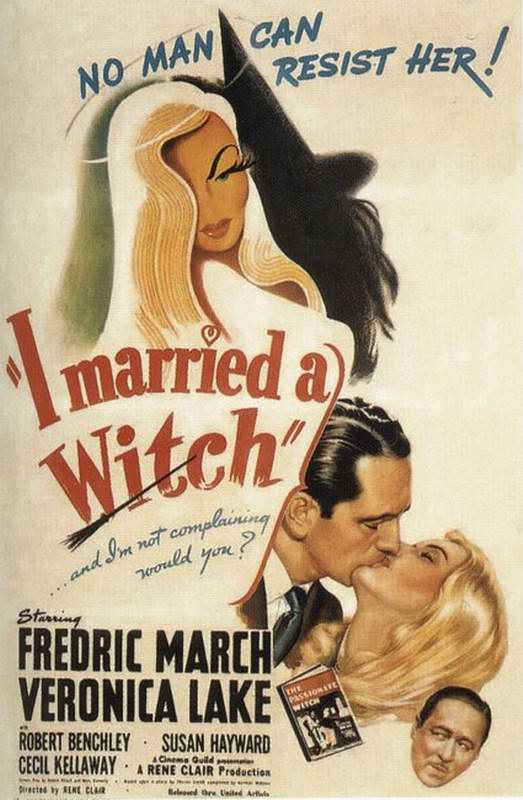 "poster for ""I Married A Witch&quot"
