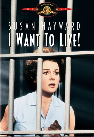 "poster for ""I Want To Live&quot"