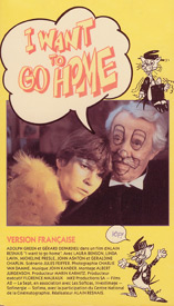 "poster for ""I Want to go Home&quot"