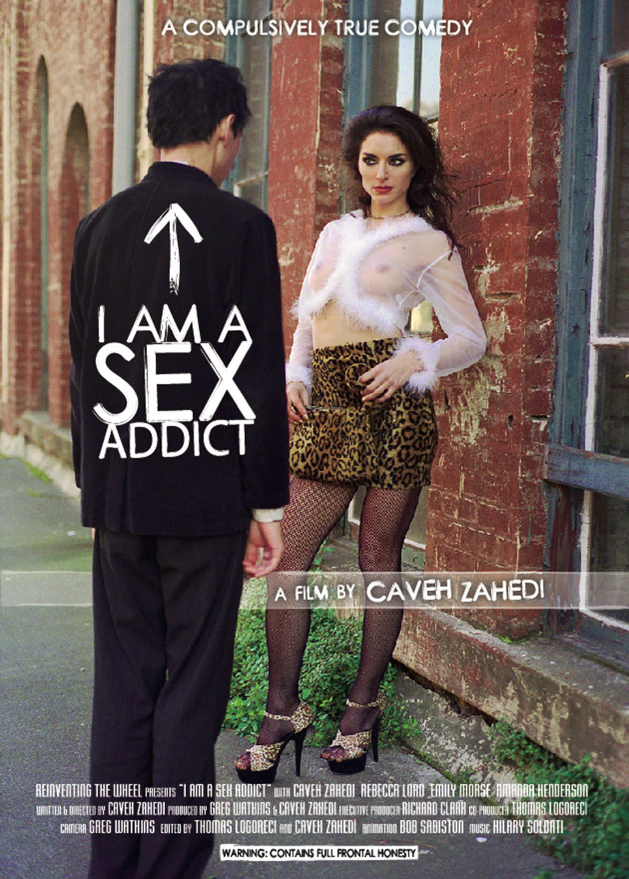 "poster for ""I Am a Sex Addict"" by Caveh Zahedi (2005)"