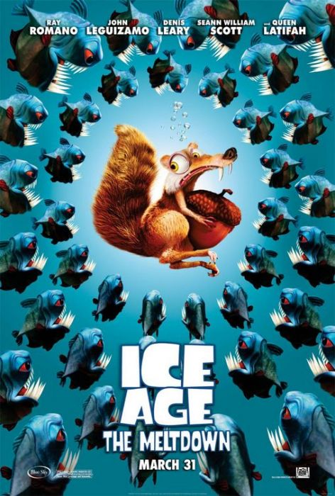 "poster for ""Ice Age 2 The Meltdown&quot"