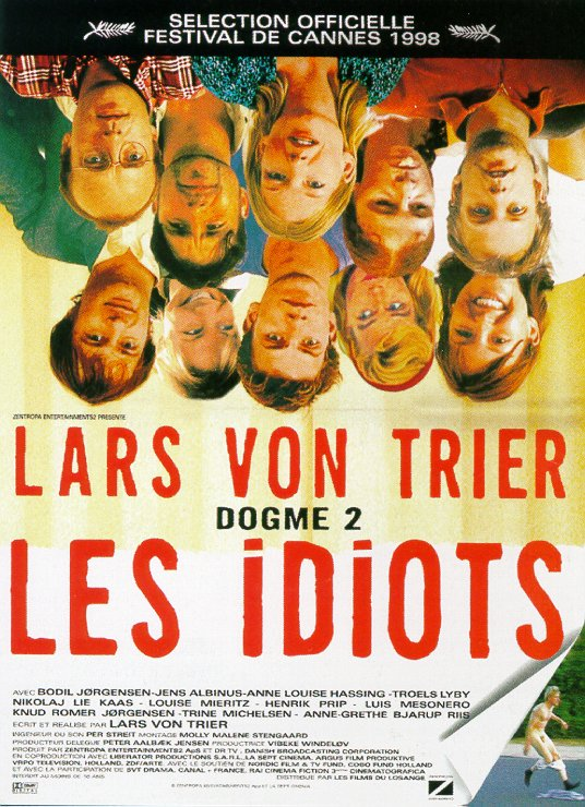 "poster for ""Idioterne (The Idiots)"" by Lars von Trier(1998)"