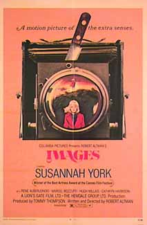 "poster for ""Images"" by Robert Altman(1972)"