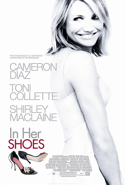 "poster for ""In Her Shoes"" by Curtis Hanson(2005)"