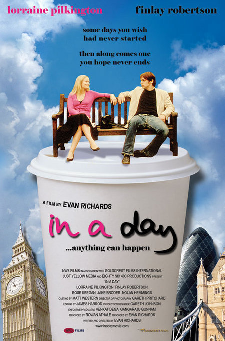 "poster for ""In A Day"" by Evan Richards (2006)"