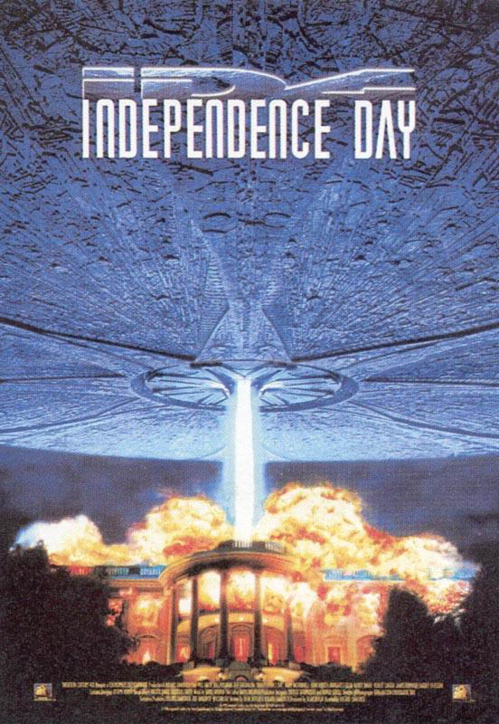 "poster for ""Independence Day&quot"