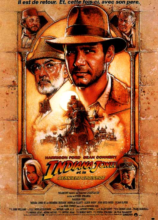 "poster for ""Indiana Jones and the Last Crusade&quot"