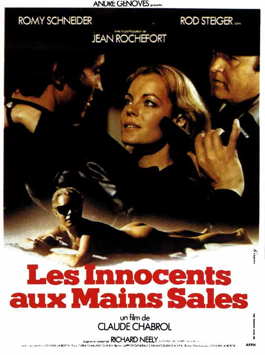 "poster for ""Innocents Aux Mains Sales, Les"" by Claude Chabrol(1975)"