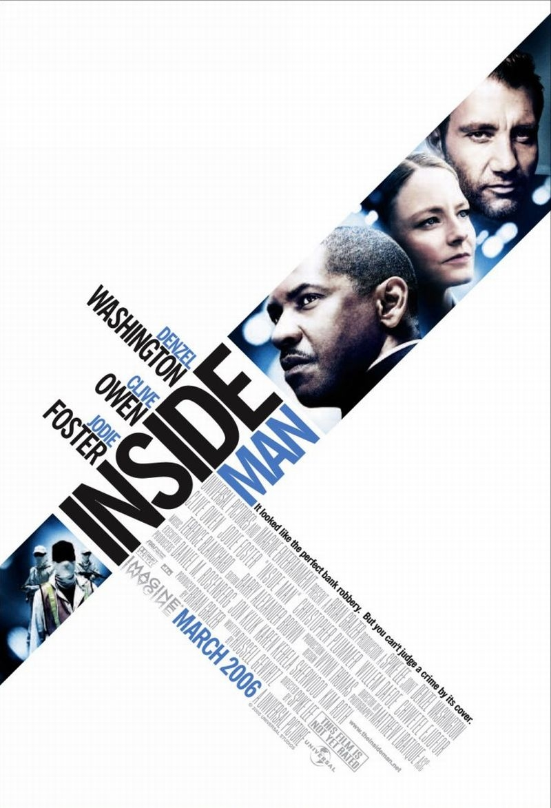 "poster for ""Inside Man"" by Spike Lee(2006)"