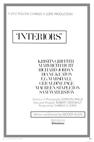 "poster for ""Interiors&quot"