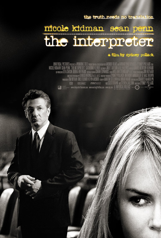 "poster for ""Interpreter, The&quot"