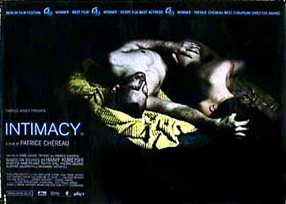 "poster for ""Intimacy&quot"