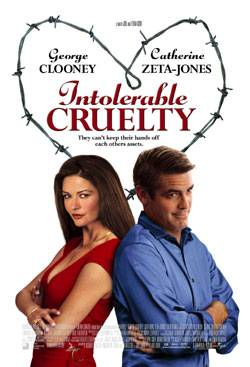 "poster for ""Intolerable Cruelty"""