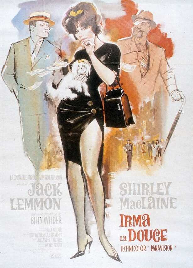"poster for ""Irma La Douce"" by Billy Wilder(1963)"