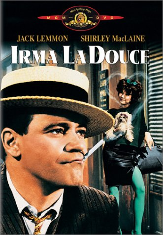 "poster for ""Irma La Douce&quot"