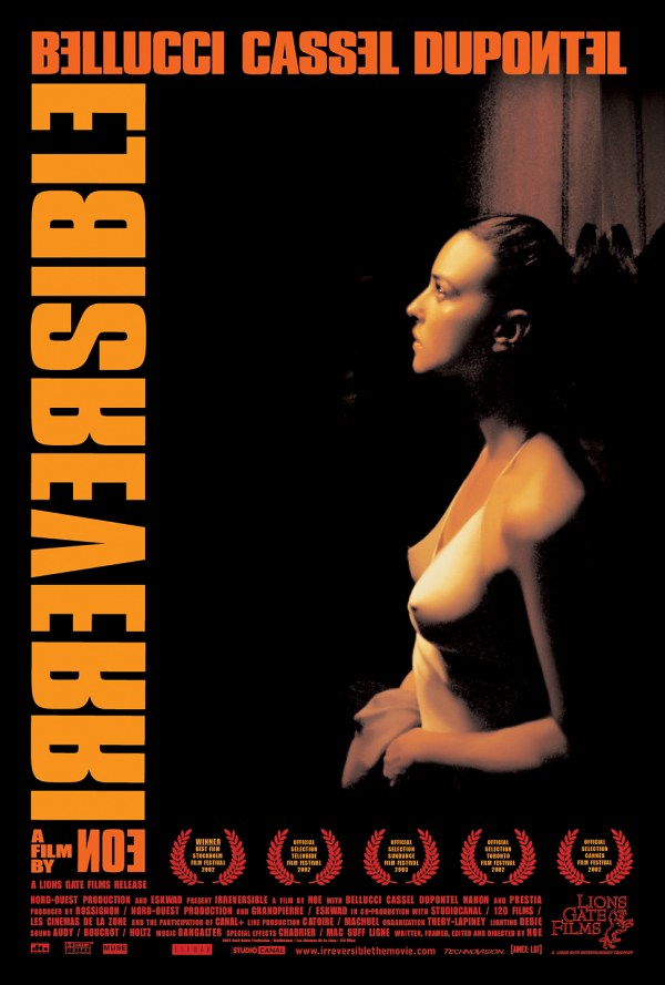 "poster for ""Irr�versible"" by Gaspar No�(2002)"