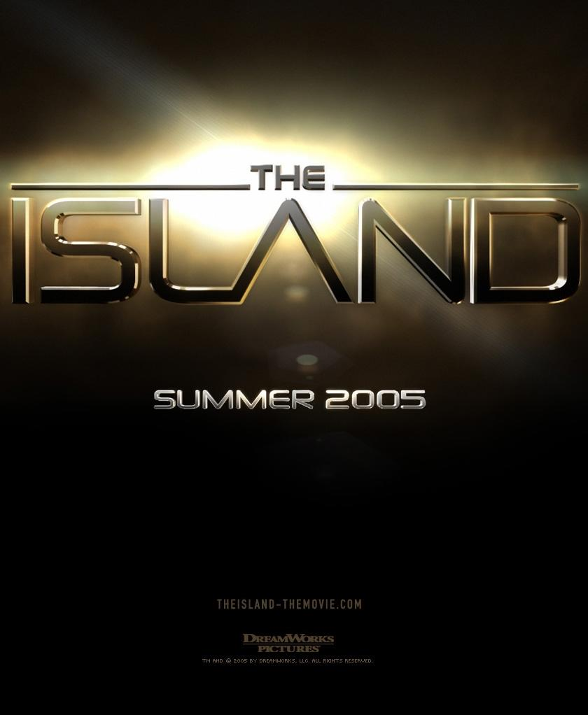 "poster for ""Island, The"" by Michael Bay(2005)"