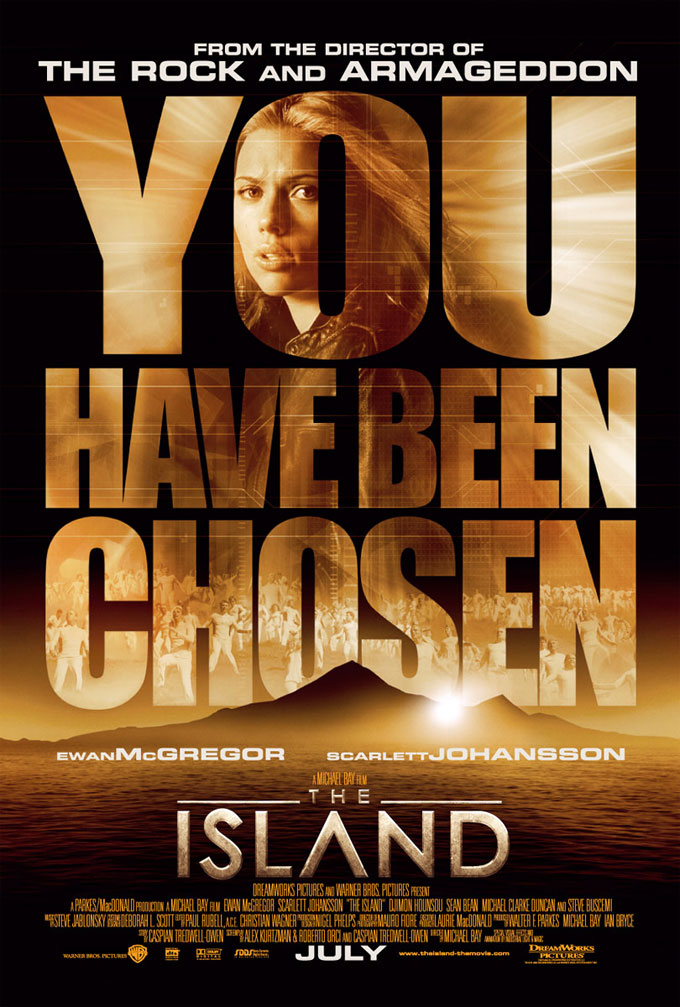 "poster for ""Island, The&quot"