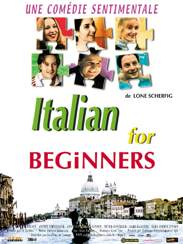 "poster for ""Italiensk for begyndere"" by Lone Scherfig(2000)"