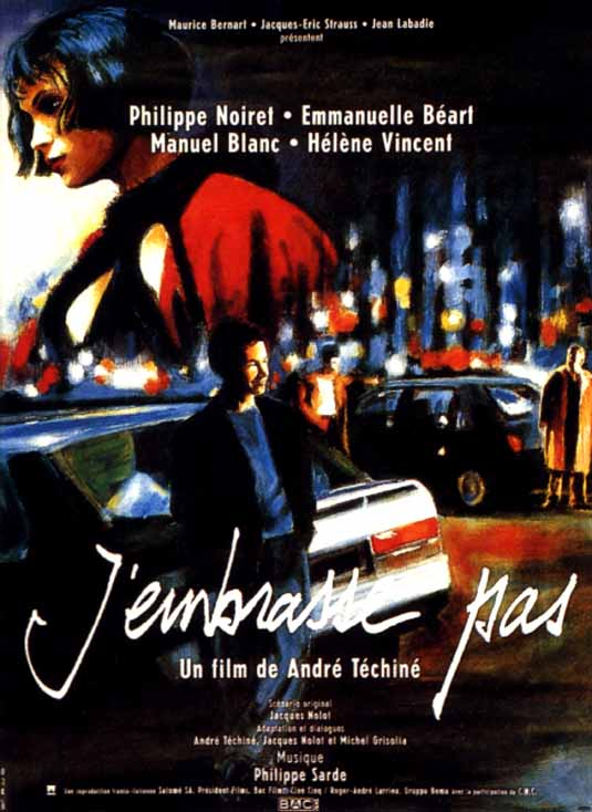 "poster for ""J'embrasse pas"" by Andr� T�chin�(1991)"