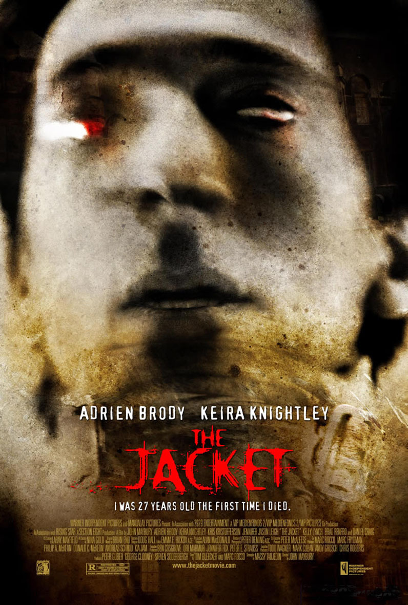 "poster for ""Jacket, The"" by John Maybury(2005)"