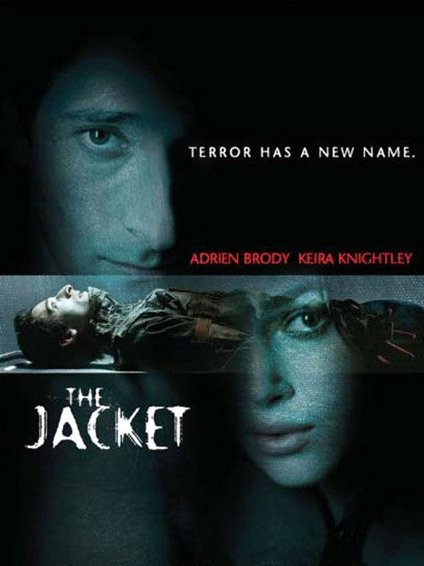"poster for ""Jacket, The&quot"