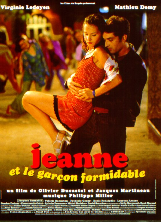 "poster for ""Jeanne et le gar�on formidable"" by Olivier Ducastel 