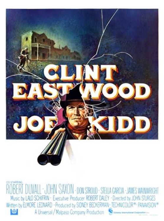 "poster for ""Joe Kidd"" by John Sturges(1972)"