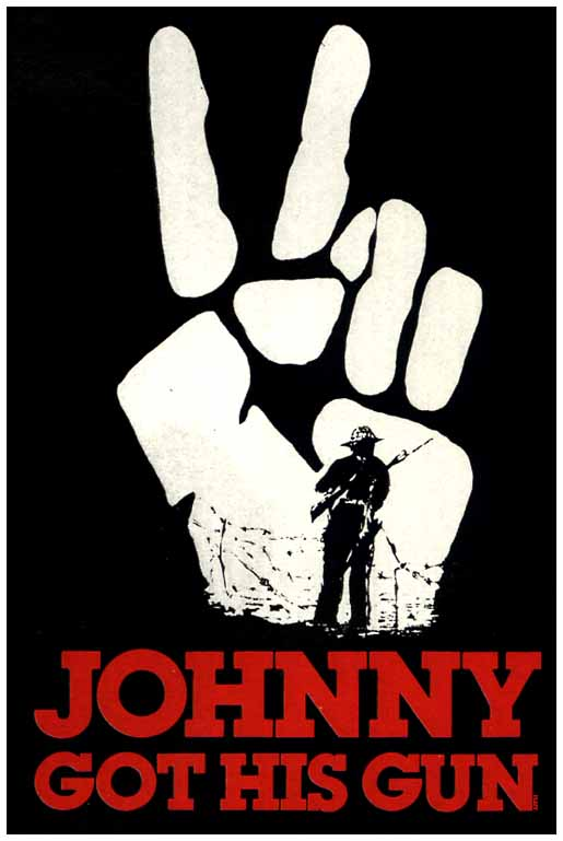 "poster for ""Johnny got his gun&quot"