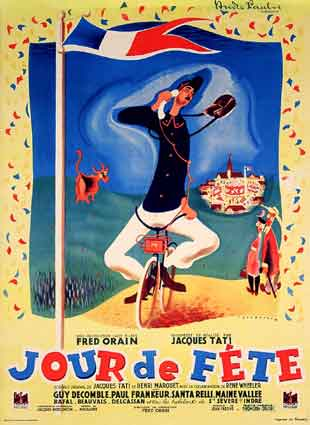 "poster for ""Jour de F�te (The Big Day, Holiday)&quot"