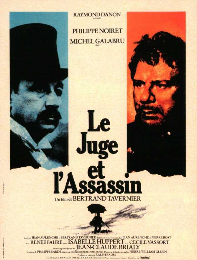 "poster for ""Le Juge et l'Assassin"" by Bertrand Tavernier(1976)"