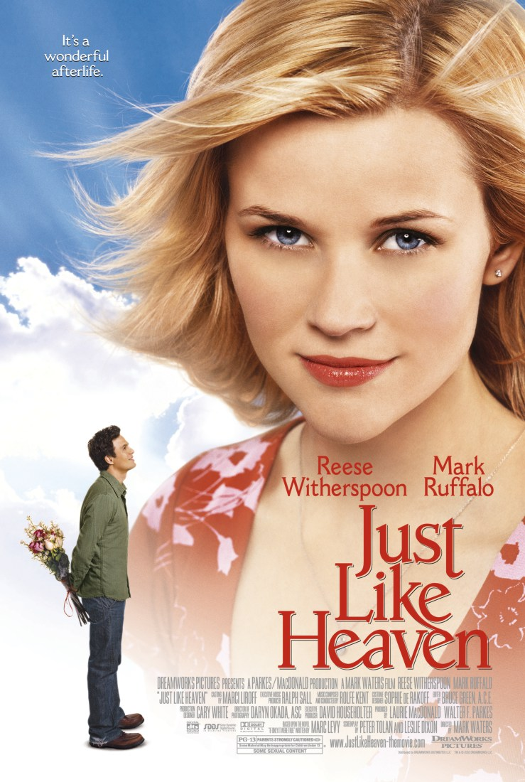 "poster for ""Just Like Heaven"" by Mark Waters (2005)"