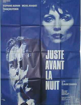 "poster for ""Juste Avant La Nuit"" by Claude Chabrol(1971)"