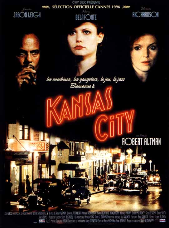 "poster for ""Kansas City"" by Robert Altman(1996)"