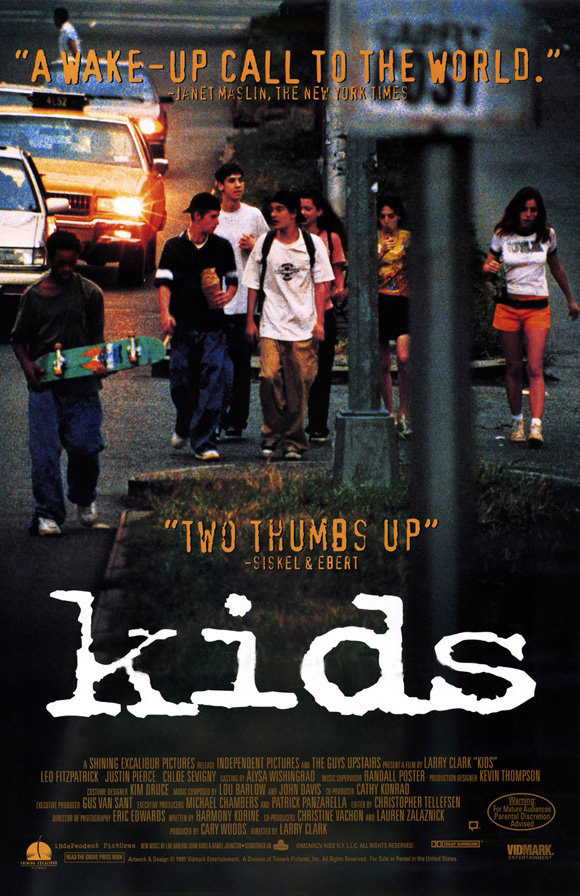 "poster for ""Kids"" by Larry Clark (1995)"