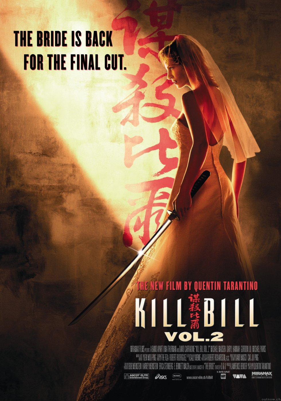 "poster for ""Kill Bill - Volume 2"" by Quentin Tarantino(2004)"