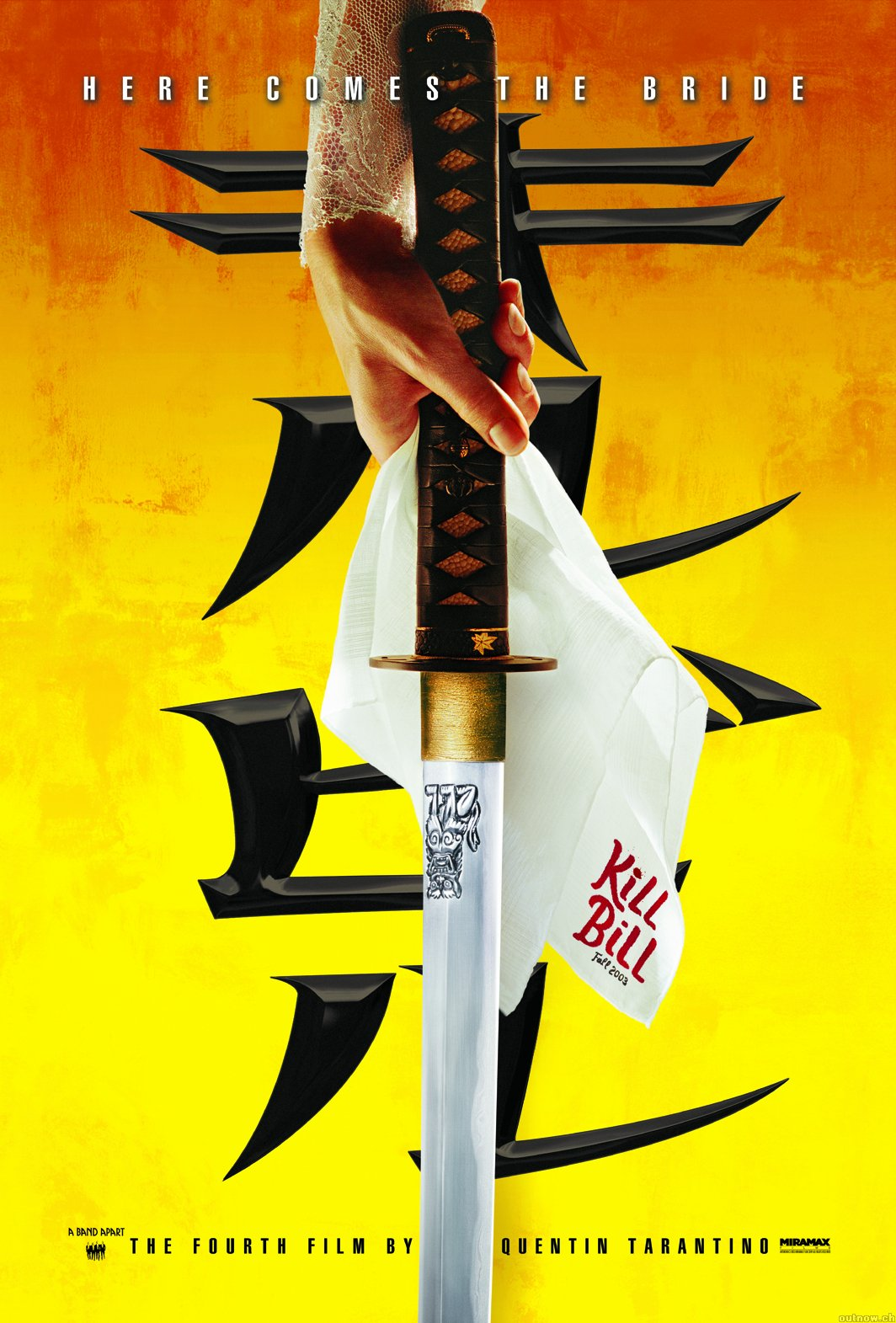 "poster for ""Kill Bill - Volume 1"" by Quentin Tarantino(2003)"