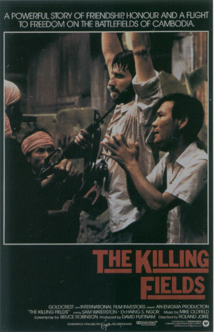 "poster for ""Killing Fields, The"" by Roland Joff�(1984)"