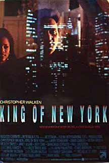 "poster for ""King of New York&quot"