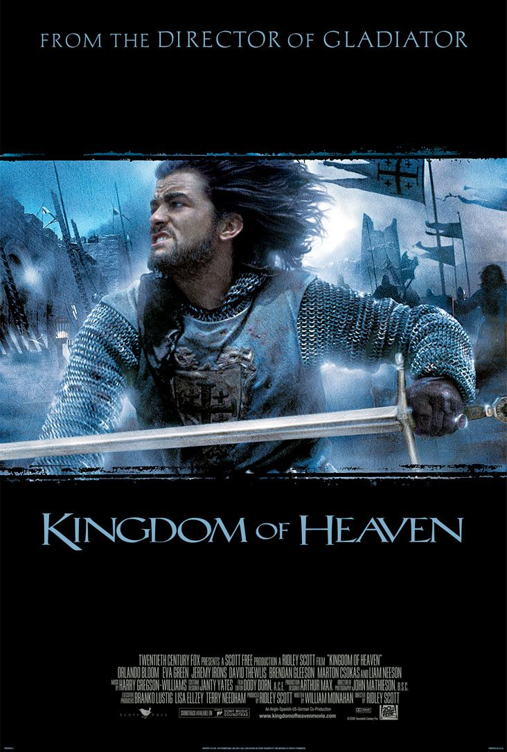 "poster for ""Kingdom of Heaven"""
