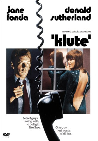"poster for ""Klute"""