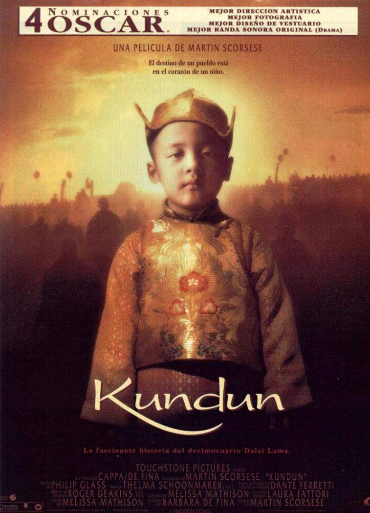 "poster for ""Kundun&quot"