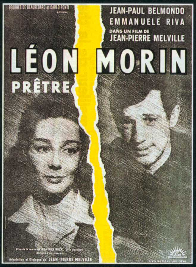 "poster for ""L�on Morin, Pr�tre&quot"
