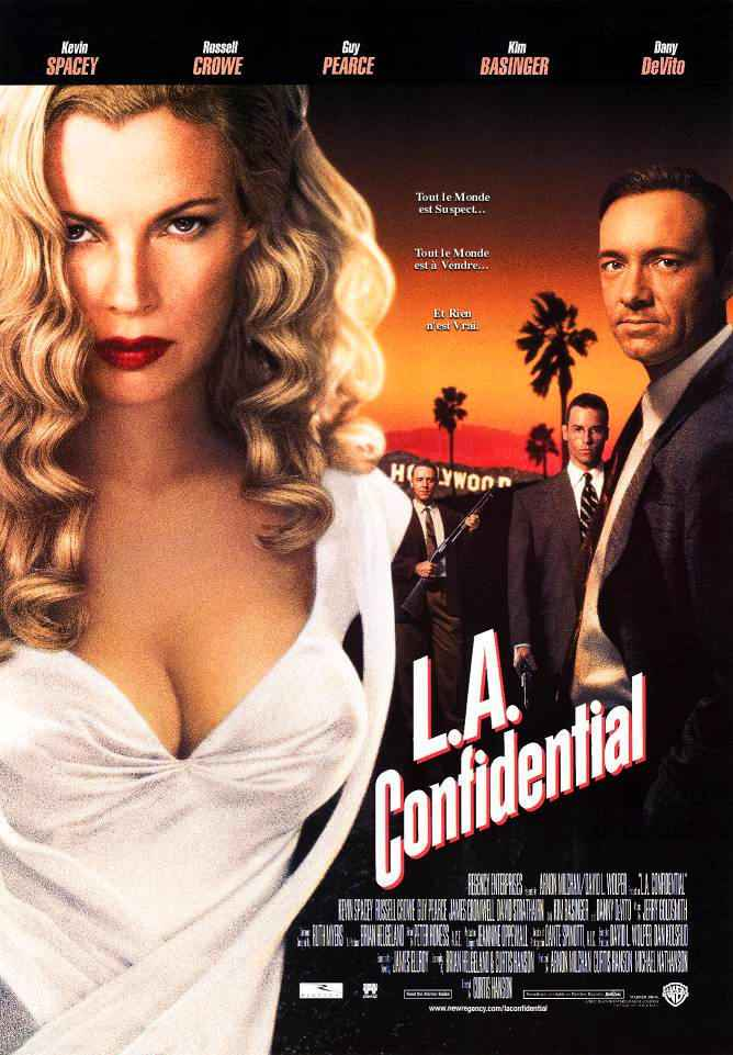 "poster for ""L.A. Confidential"" by Curtis Hanson(1997)"