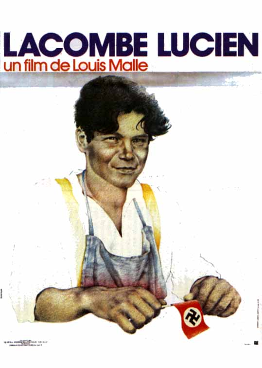 "poster for ""Lacombe, Lucien"" by Louis Malle(1974)"