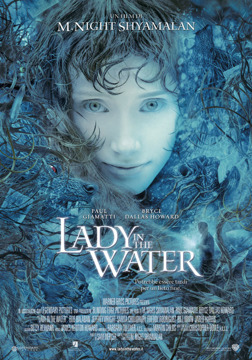 "poster for ""Lady In The Water"" by M. Night Shyamalan (2006)"